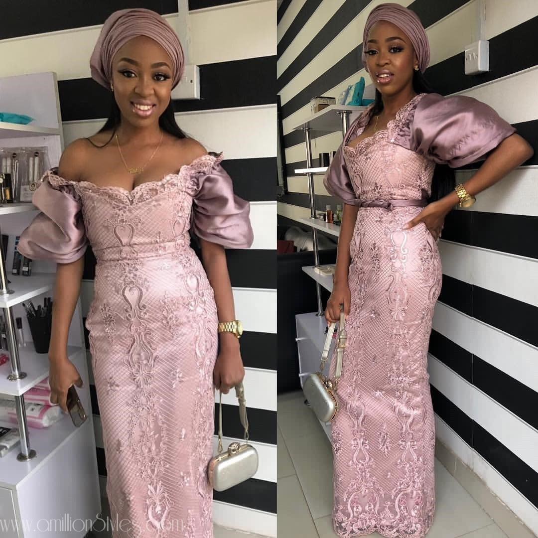 The Most Popular Colours Of Asoebi Lace In 2018: Onion