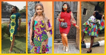 Short Ankara Styles For Casual Events