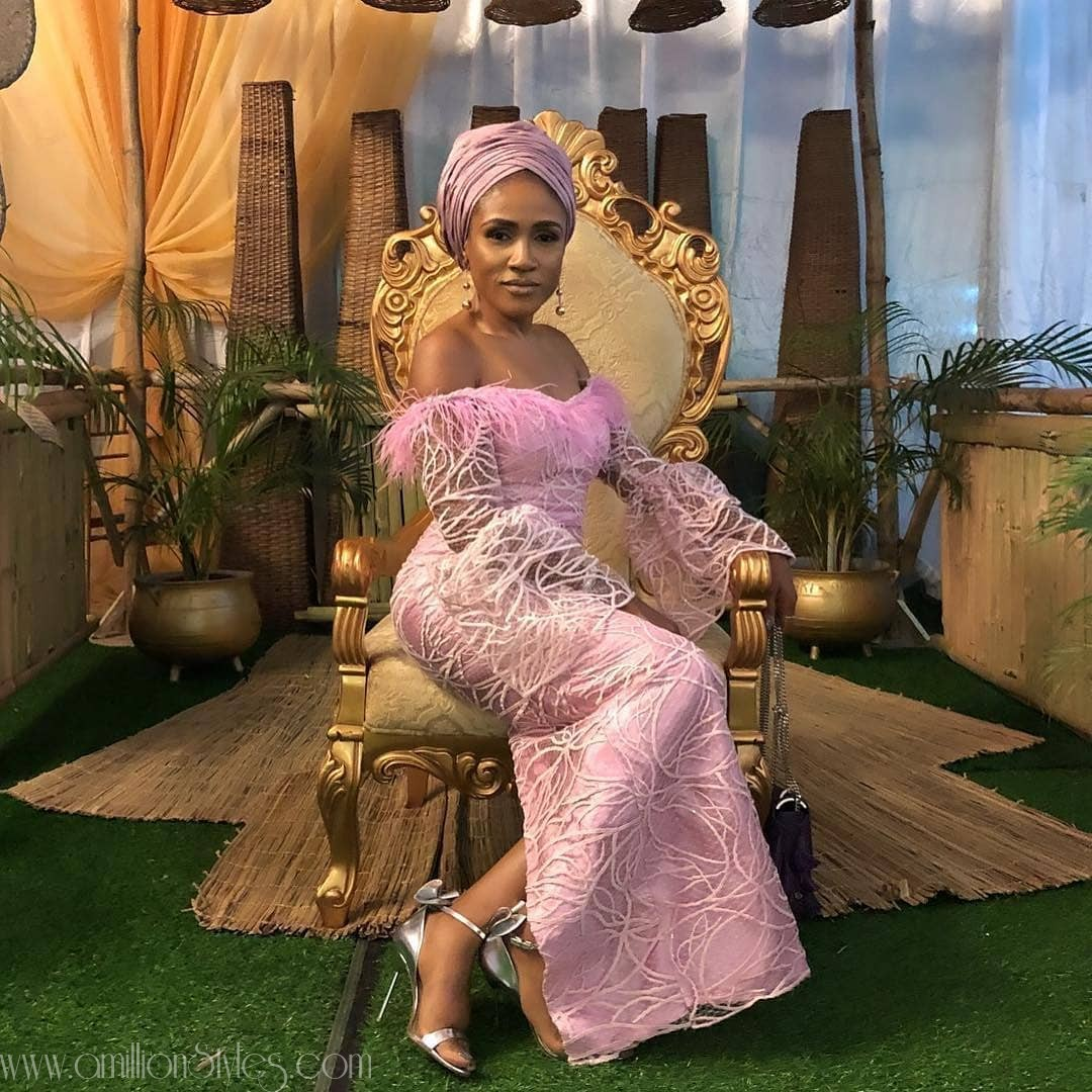 Latest Lace Asoebi Styles Volume 15