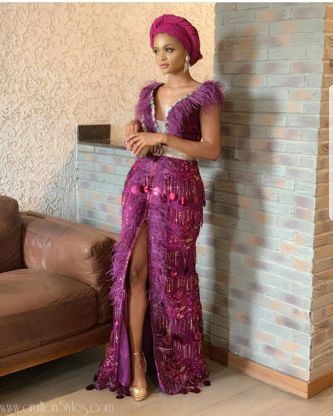 Latest Lace Asoebi Styles Volume 11