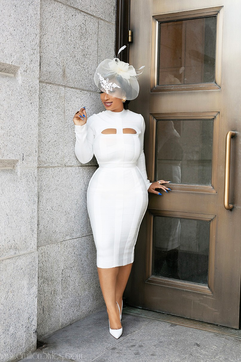 Chic Ama Serves Hot Wedding Registry Style Inspo In This All-White Outfit