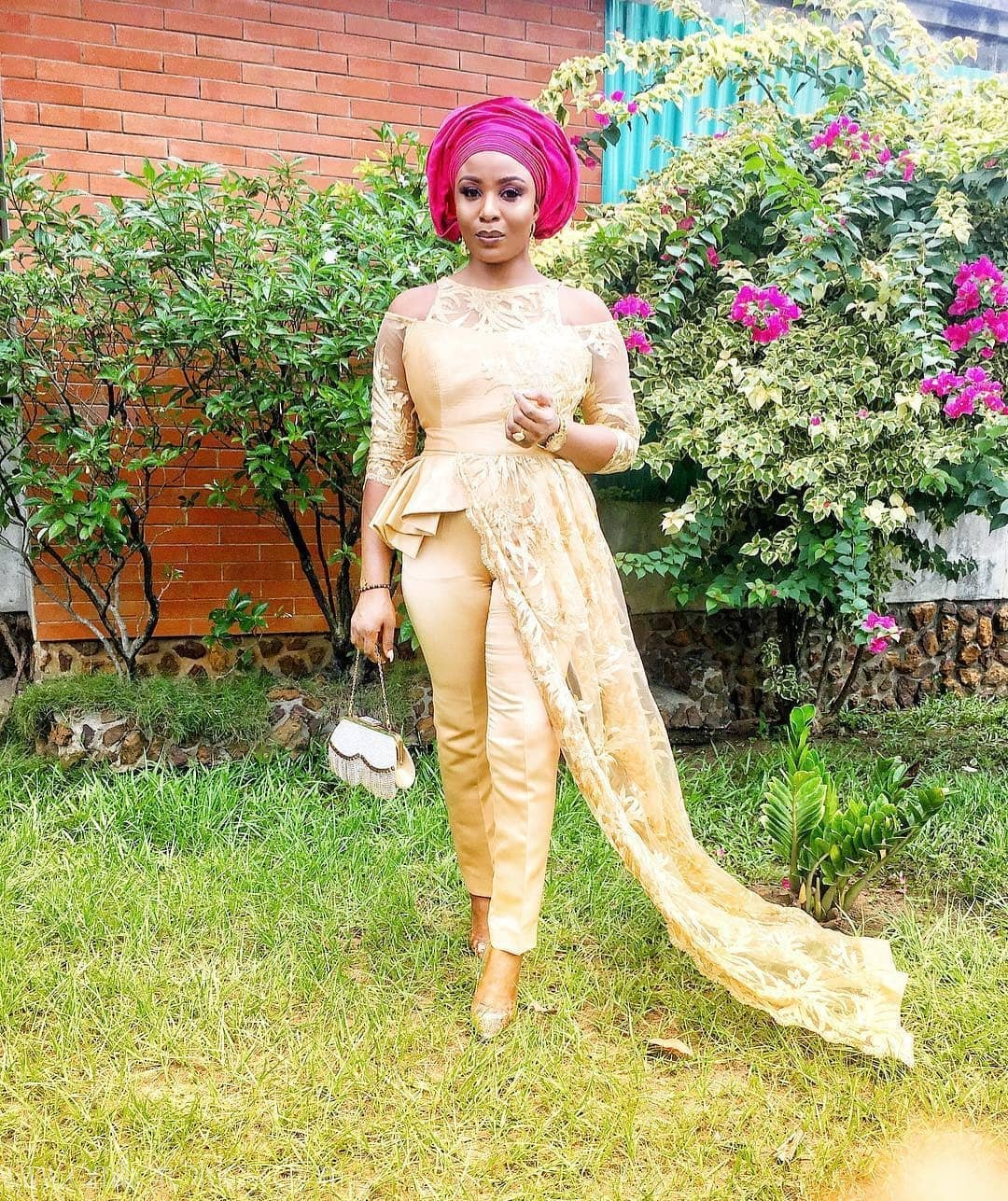 10 Ways To Slay Ankara/Lace Jumpsuits
