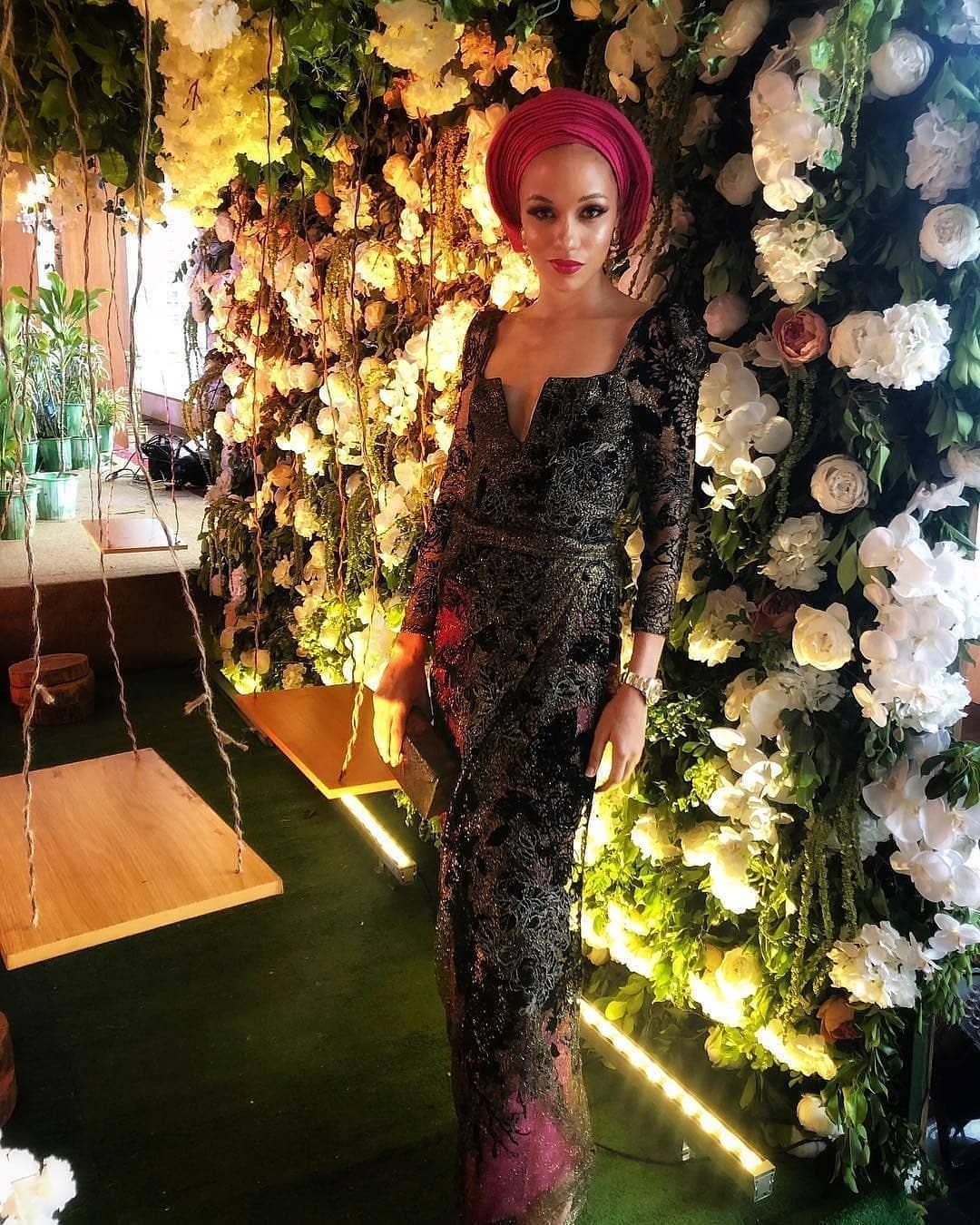 Temi Abudu Got Married And The Asoebi Styles Are Fabulous!