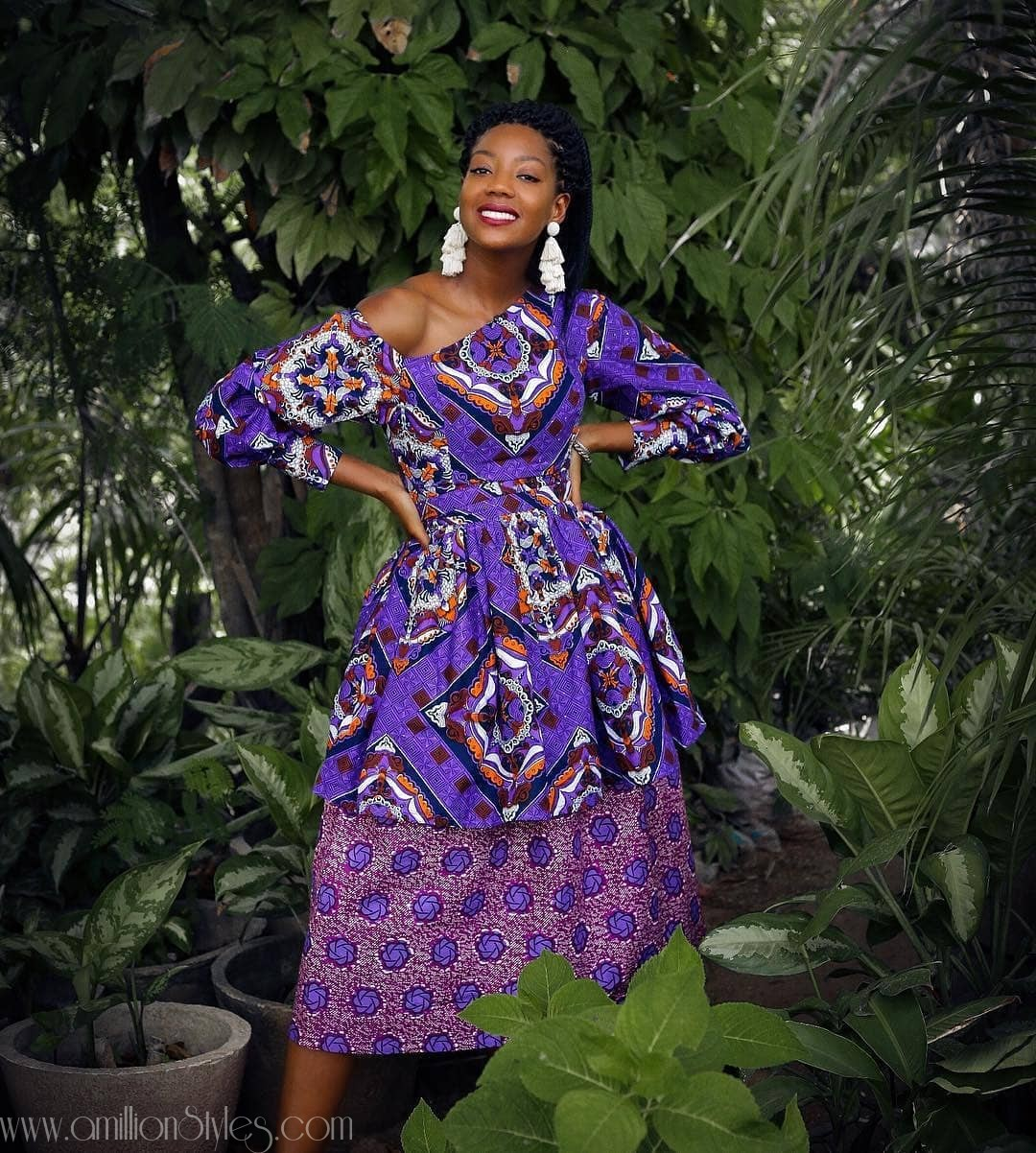 12 Short Chic Ankara Dresses