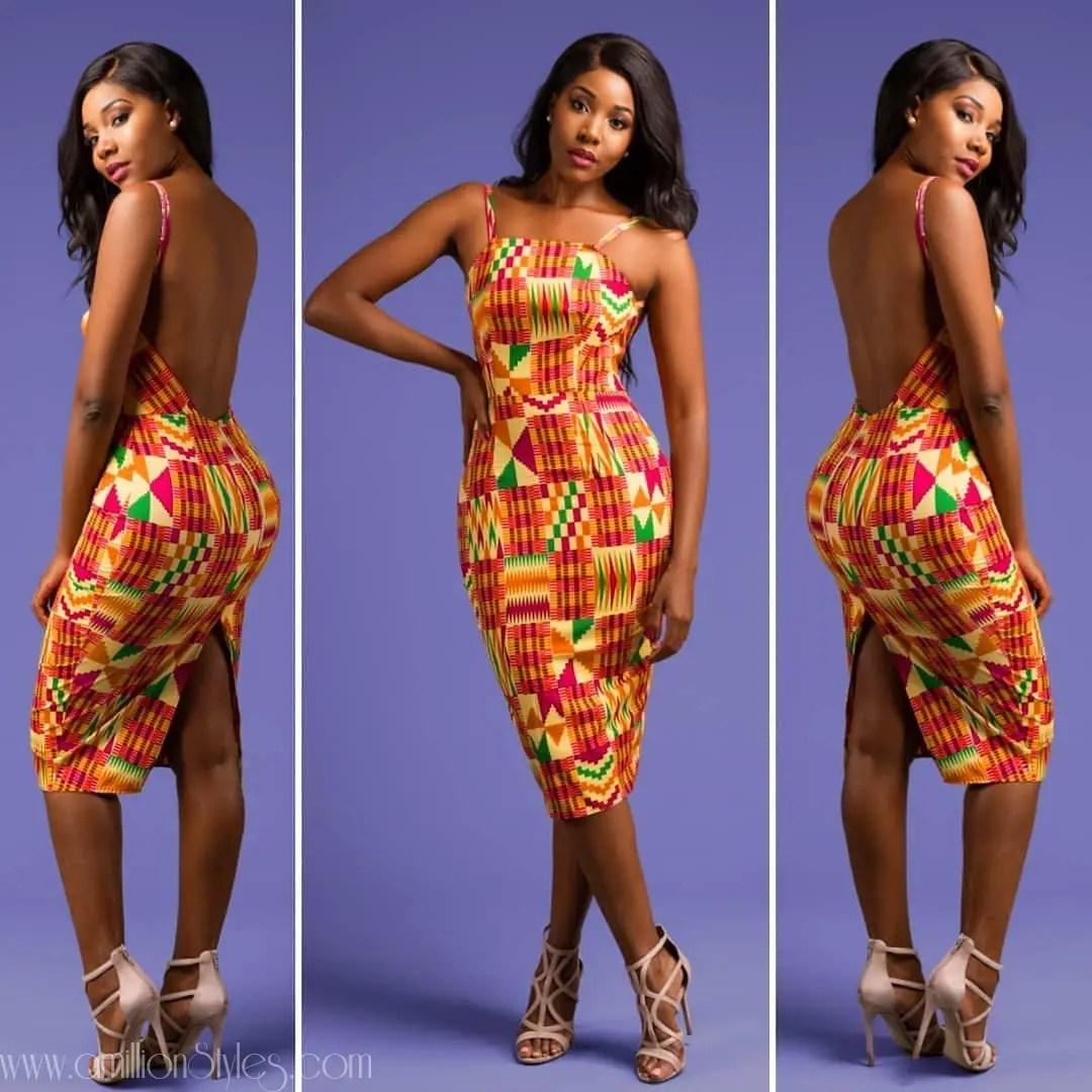 10 Pretty Short Ankara Styles