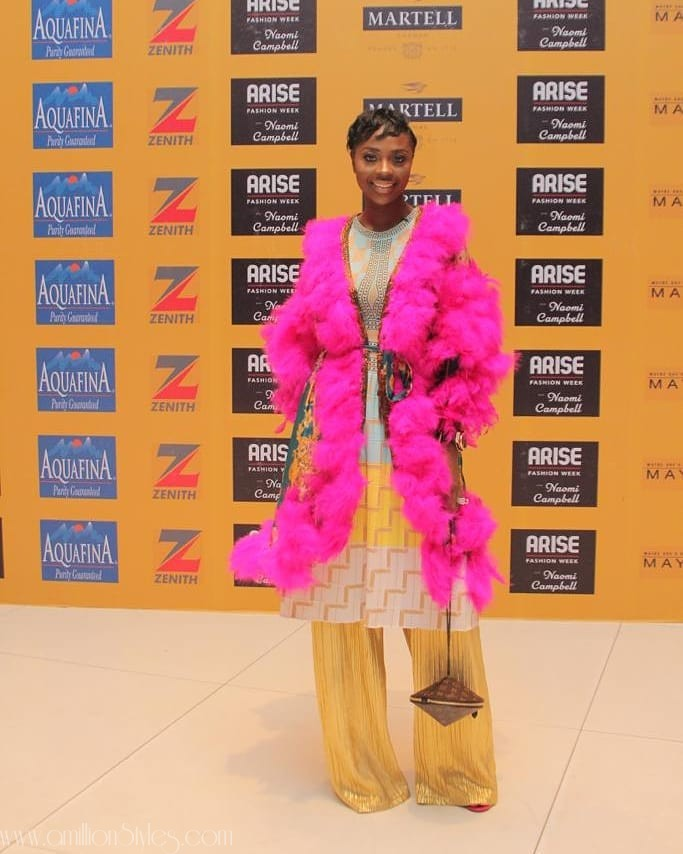 These Celebrity Styles From The Arise Fashion Week Are Stunning