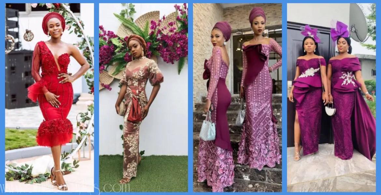Latest Lace Asoebi Styles Volume 29