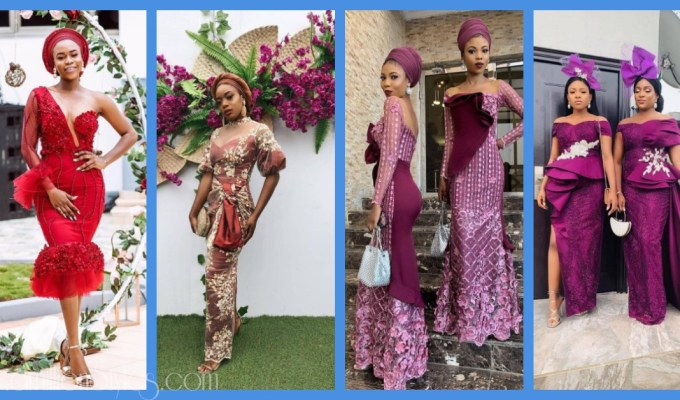 Latest Lace Asoebi Styles Volume 29