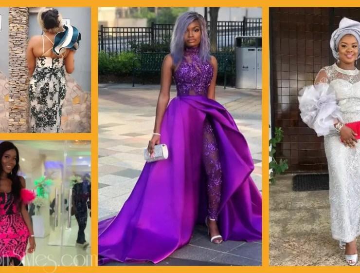 Latest Lace Asoebi Styles Volume 31