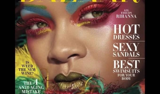 Rihanna Covers May Edition Of Harper's Bazaar