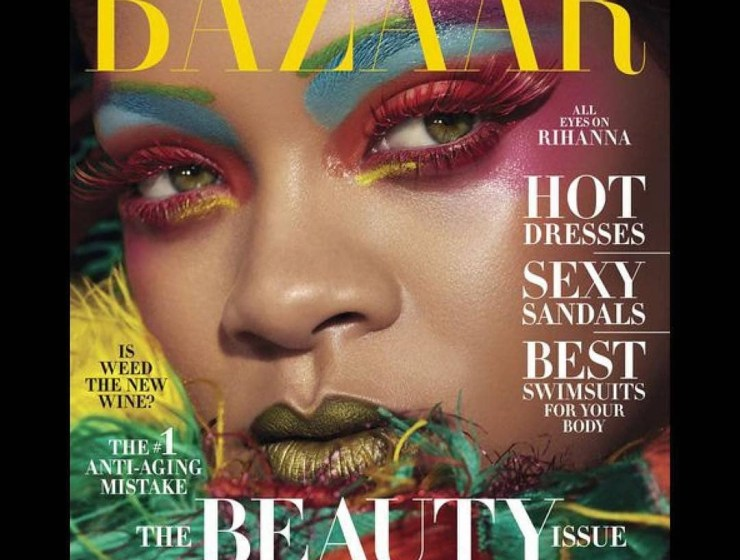 Rihanna Covers May Edition Of Harper's Bazaar