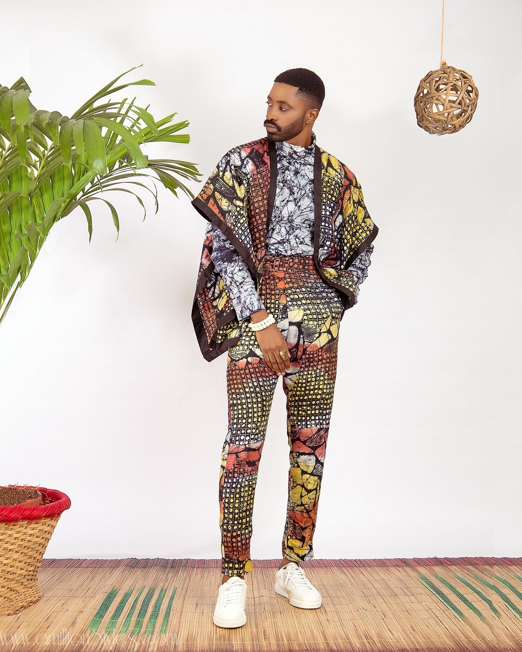 Ric Hassani Killing Us Softly In Patrickslim & Just Adire