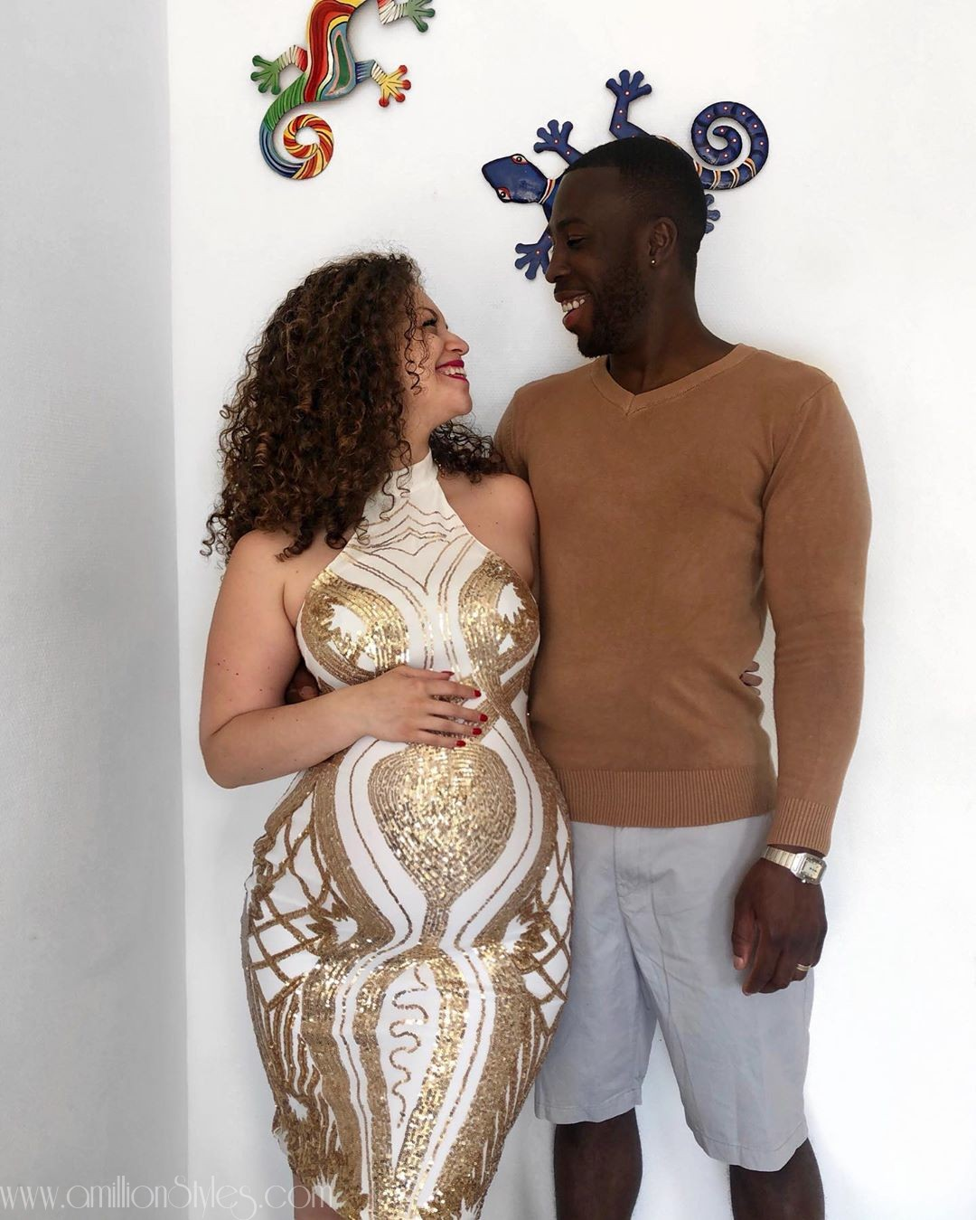 How Do You Style Your Baby Bump? Selina Kyjara Romney Gets It Right