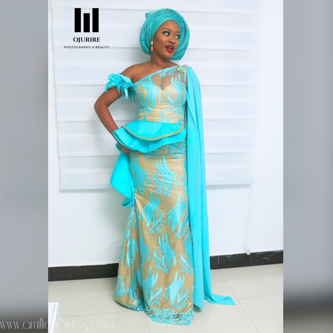 Latest Lace Asoebi Styles Volume 40