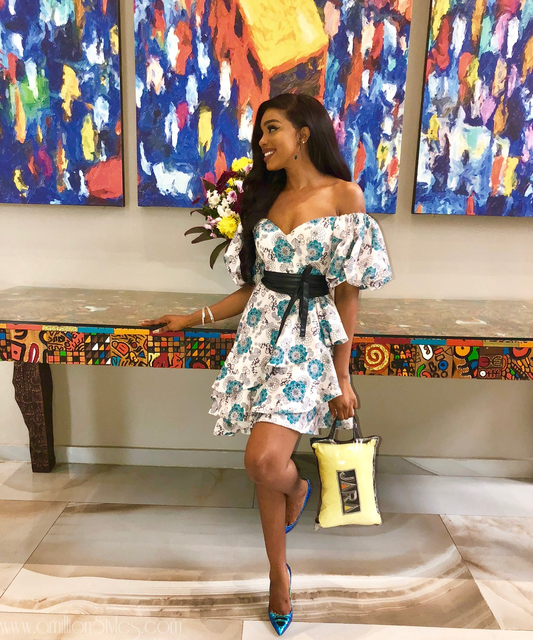 WCW: The Delectable Sharon Ooja Wows Us Always