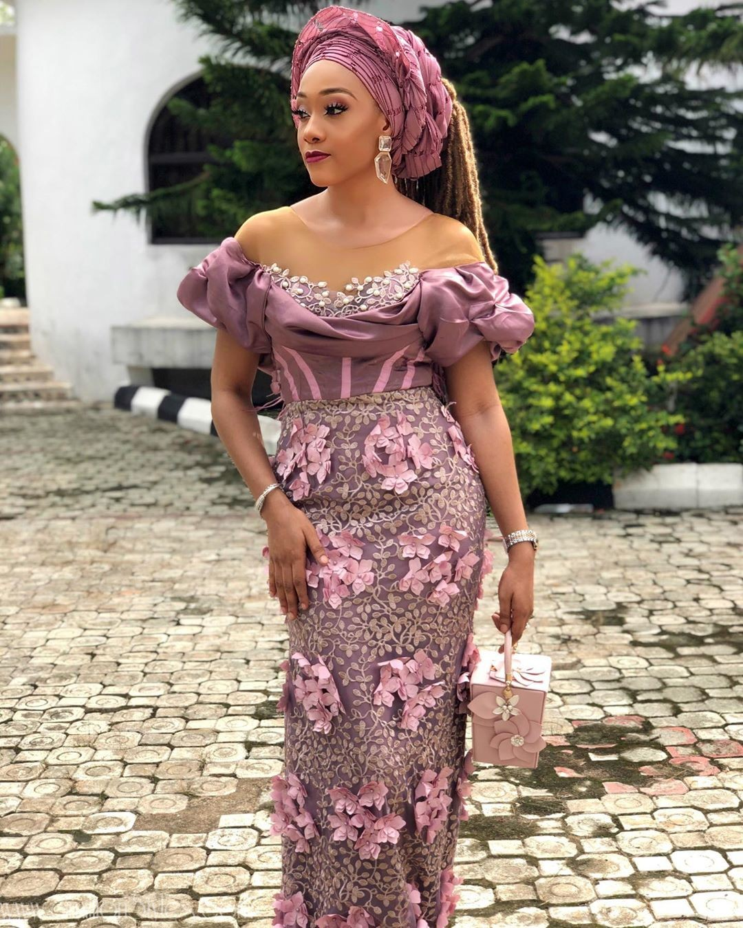 Latest Lace Asoebi Styles Volume 47