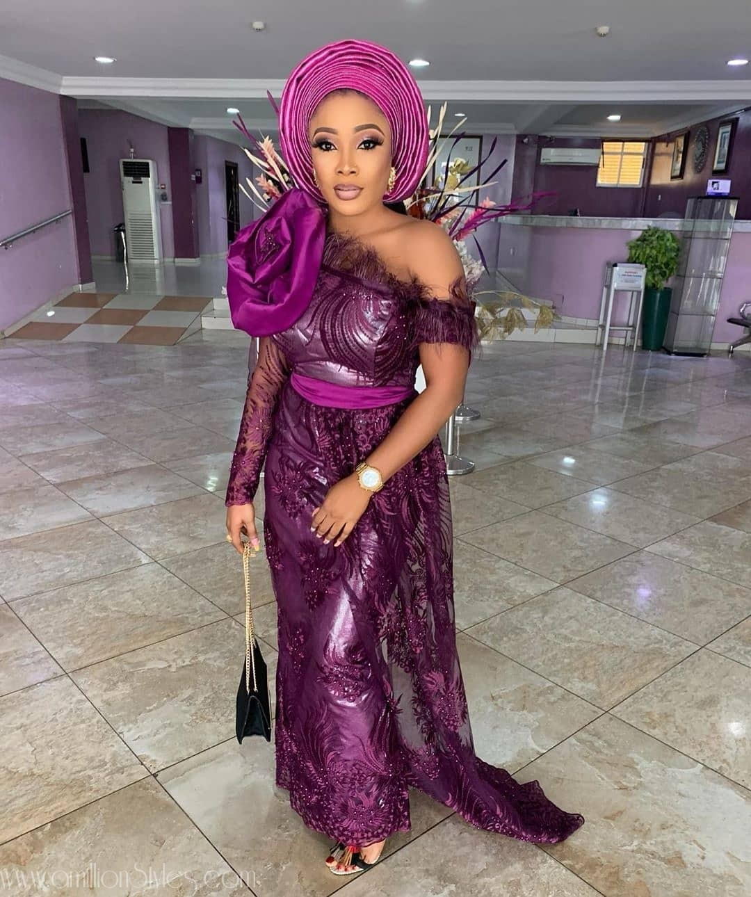 Latest Lace Asoebi Styles Volume 49