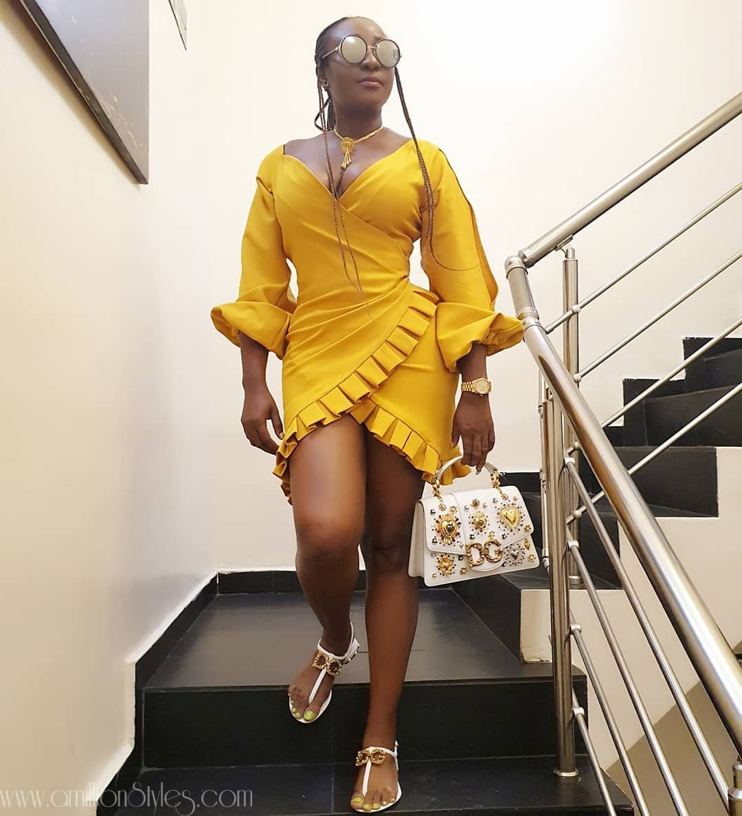 Ini Edo, The Brown Skinned Fashionista
