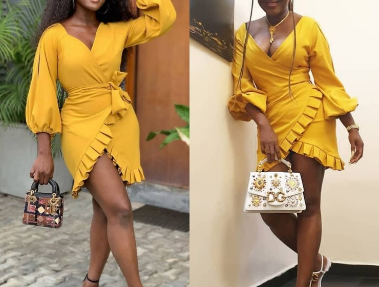 Who Wore This Yellow Number Better? Ini Edo Or Linda Osifo?