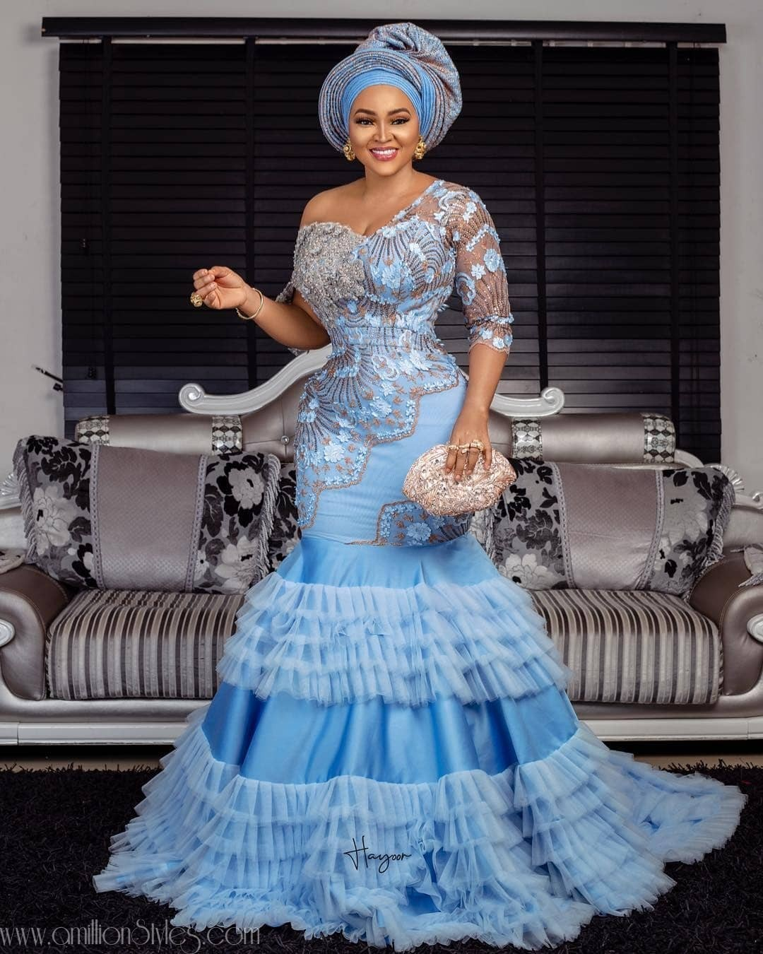 Latest Nigerian Lace Styles and Designs-Volume 11