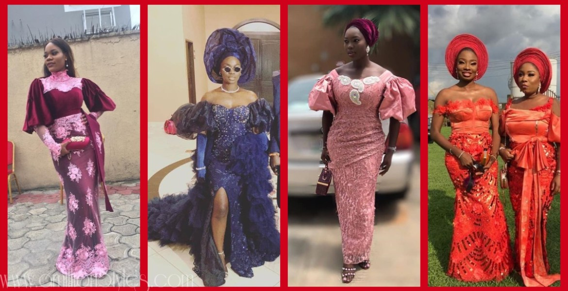 Latest Nigerian Lace Styles and Designs-Volume 6