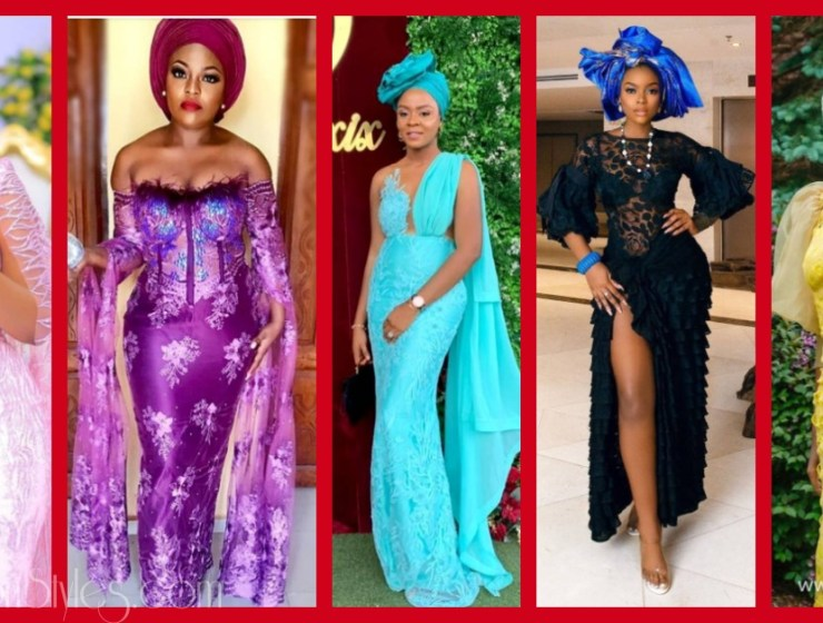 Latest Nigerian Lace Styles and Designs-Volume 2