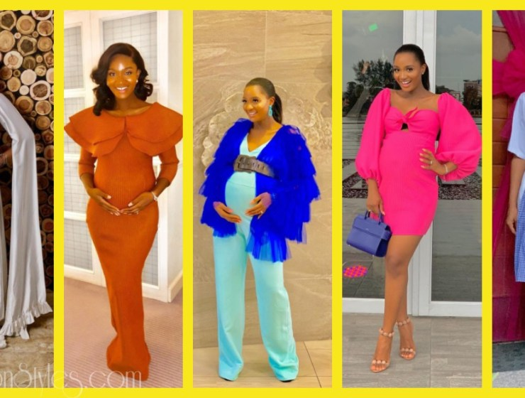 WCW: Baby Bump Styles With Powede Awujo