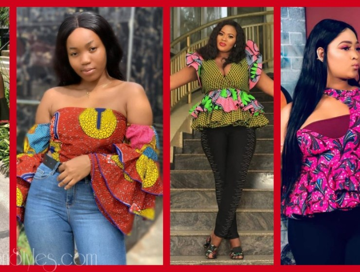 11 Ankara Blouses You Can Wear To Hangout With Friends