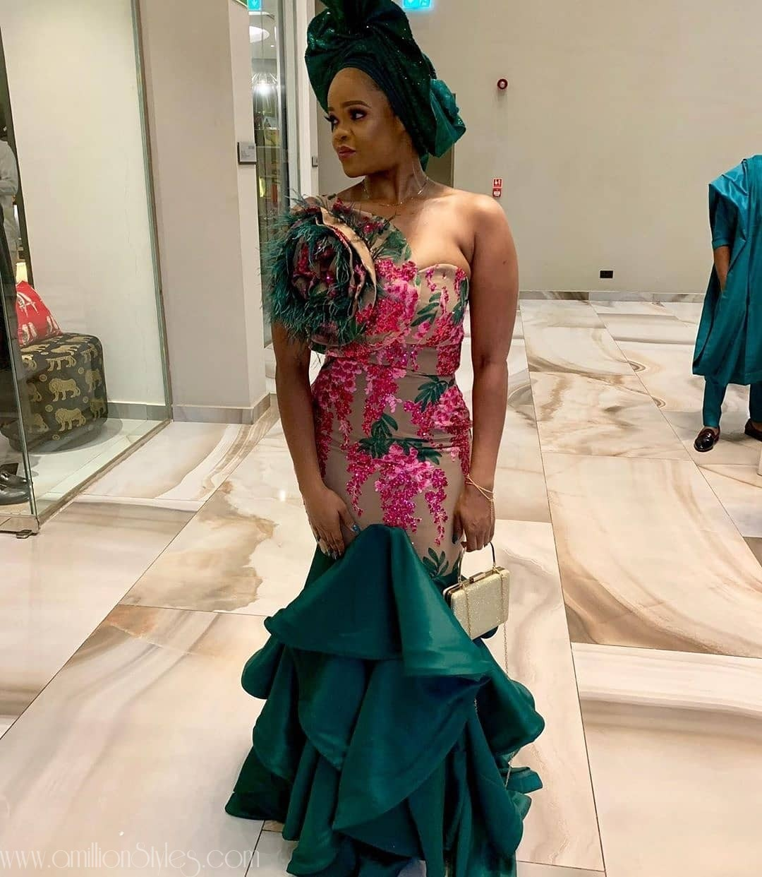 Latest Nigerian Lace Styles and Designs-Volume 12