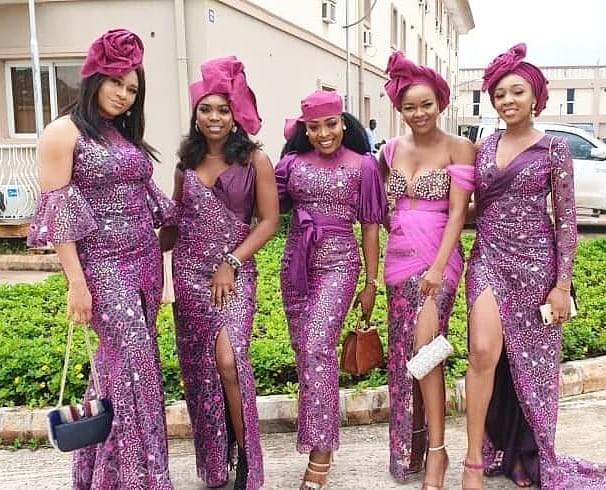 Image result for wedding aso ebi