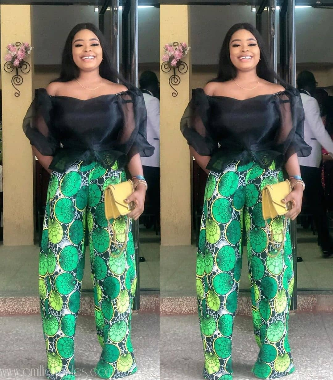 You Need These 5 Stylish Ankara Trousers For The Weekend