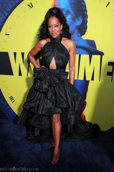How Well Did Regina King Slay This Oscar De La Renta Dress?