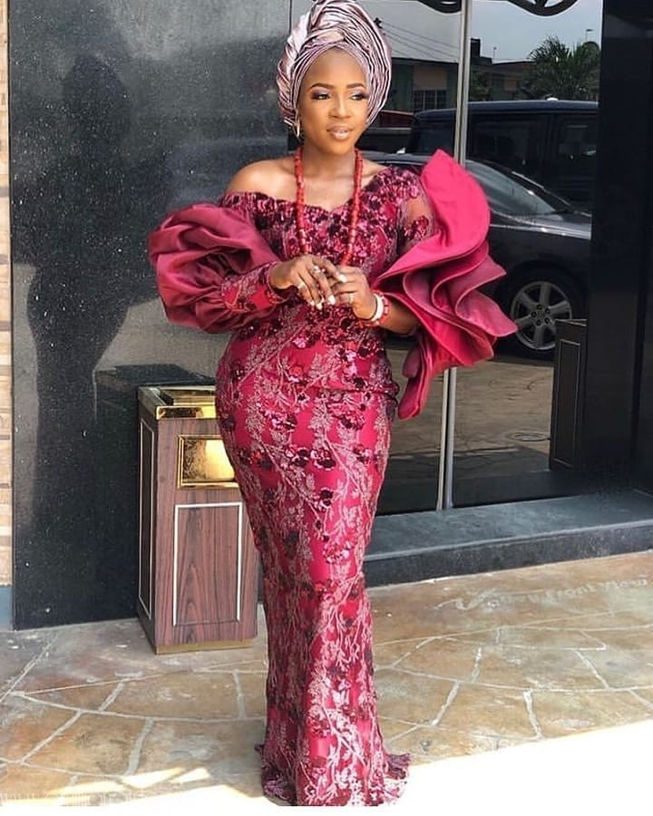 Latest Nigerian Lace Styles and Designs-Volume 17