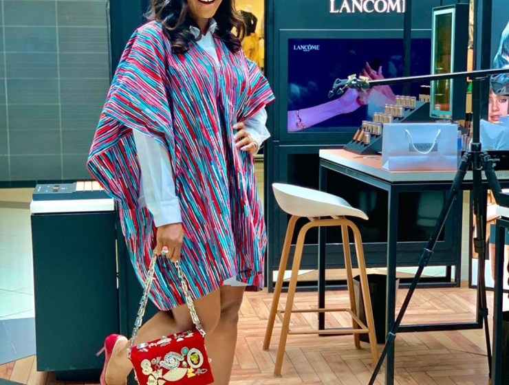 Powede Awujo Looks Sensational In This Outfit To A Lancome Event