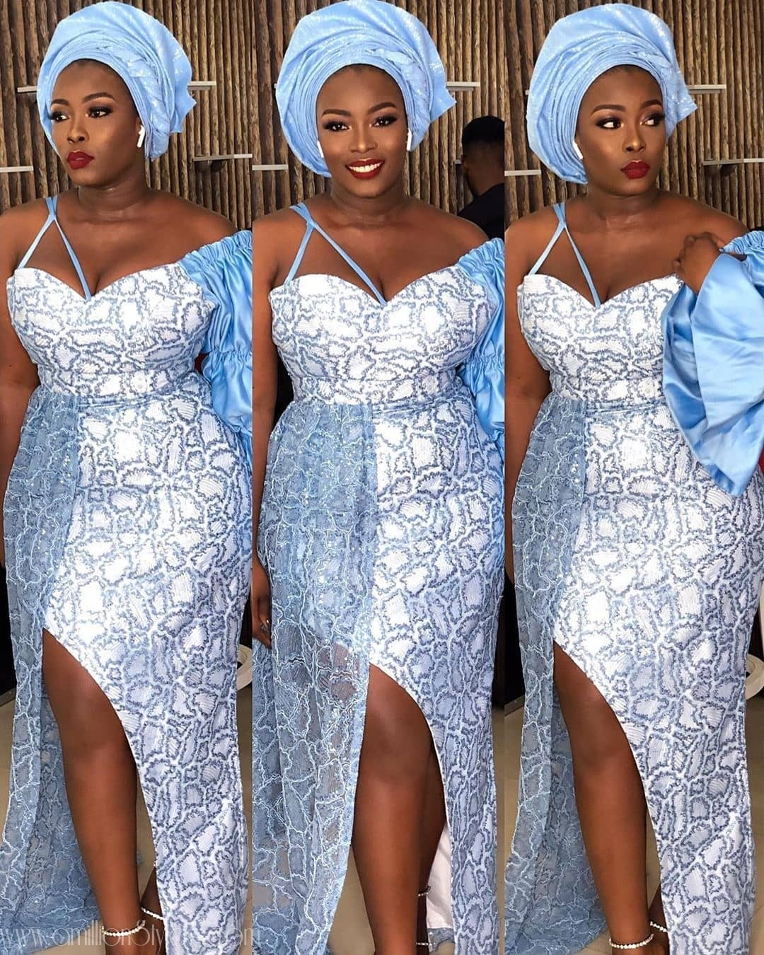 Latest Nigerian Lace Styles and Designs-Volume 19