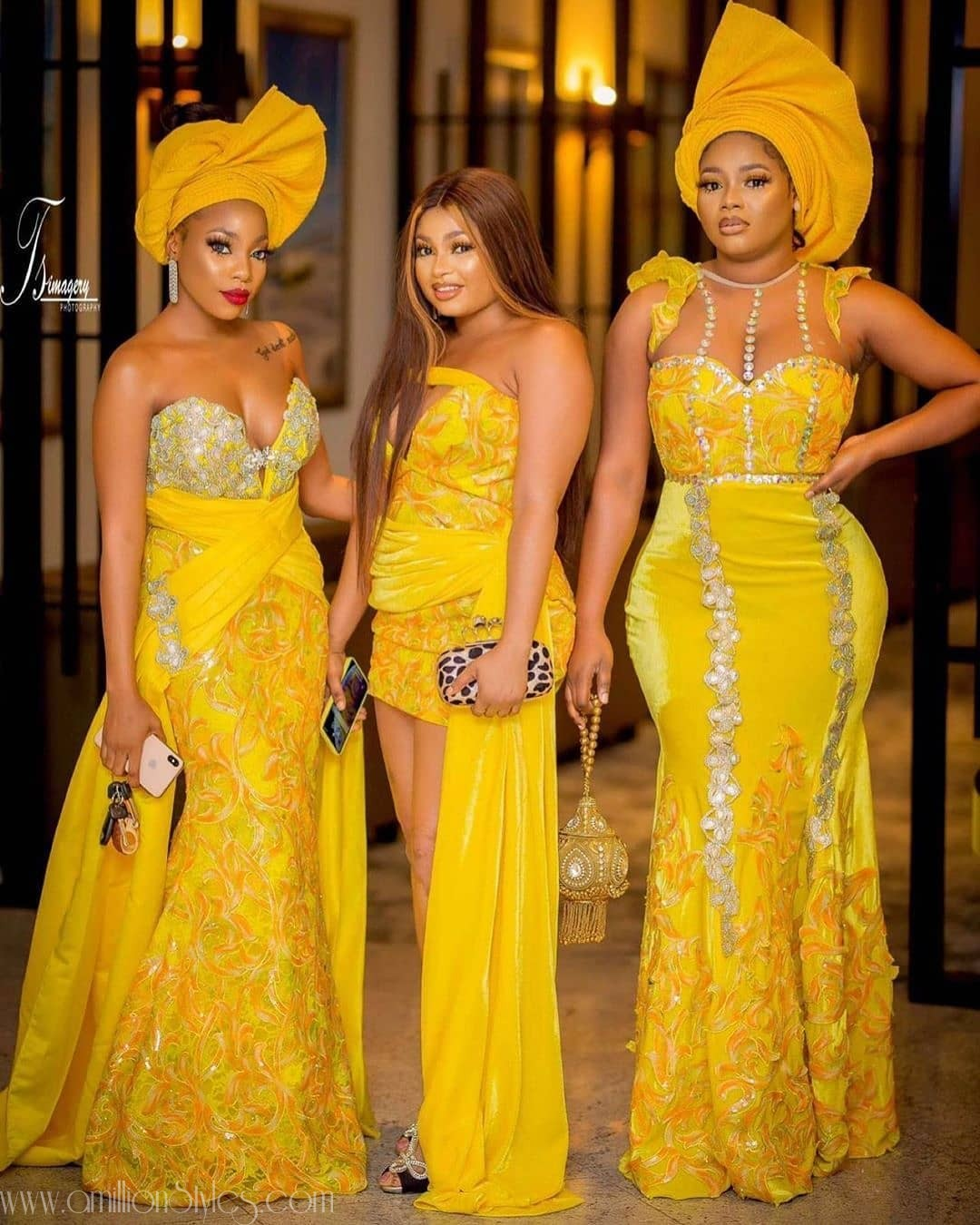 Latest Nigerian Lace Styles and Designs-Volume 20