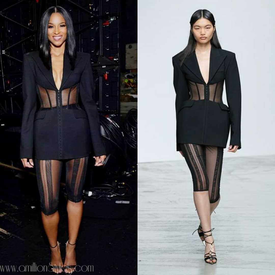 3 Different Outfit Changes By Ciara At The AMAS