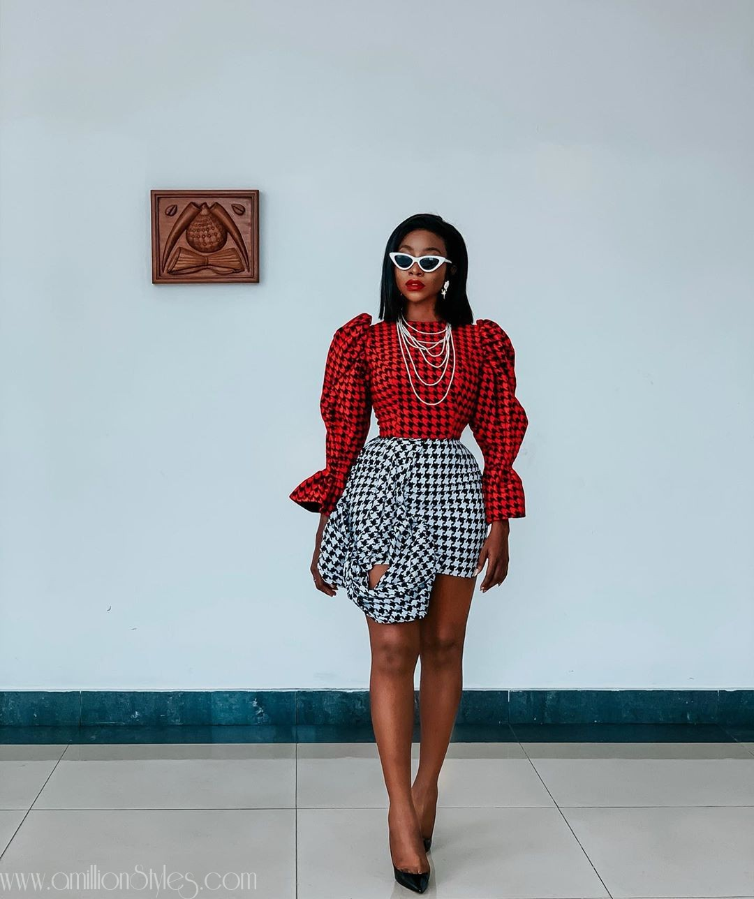 Ini Dima Okogie Is All Shades Of Hawt InThis Fab Lane By Derin Ensemble