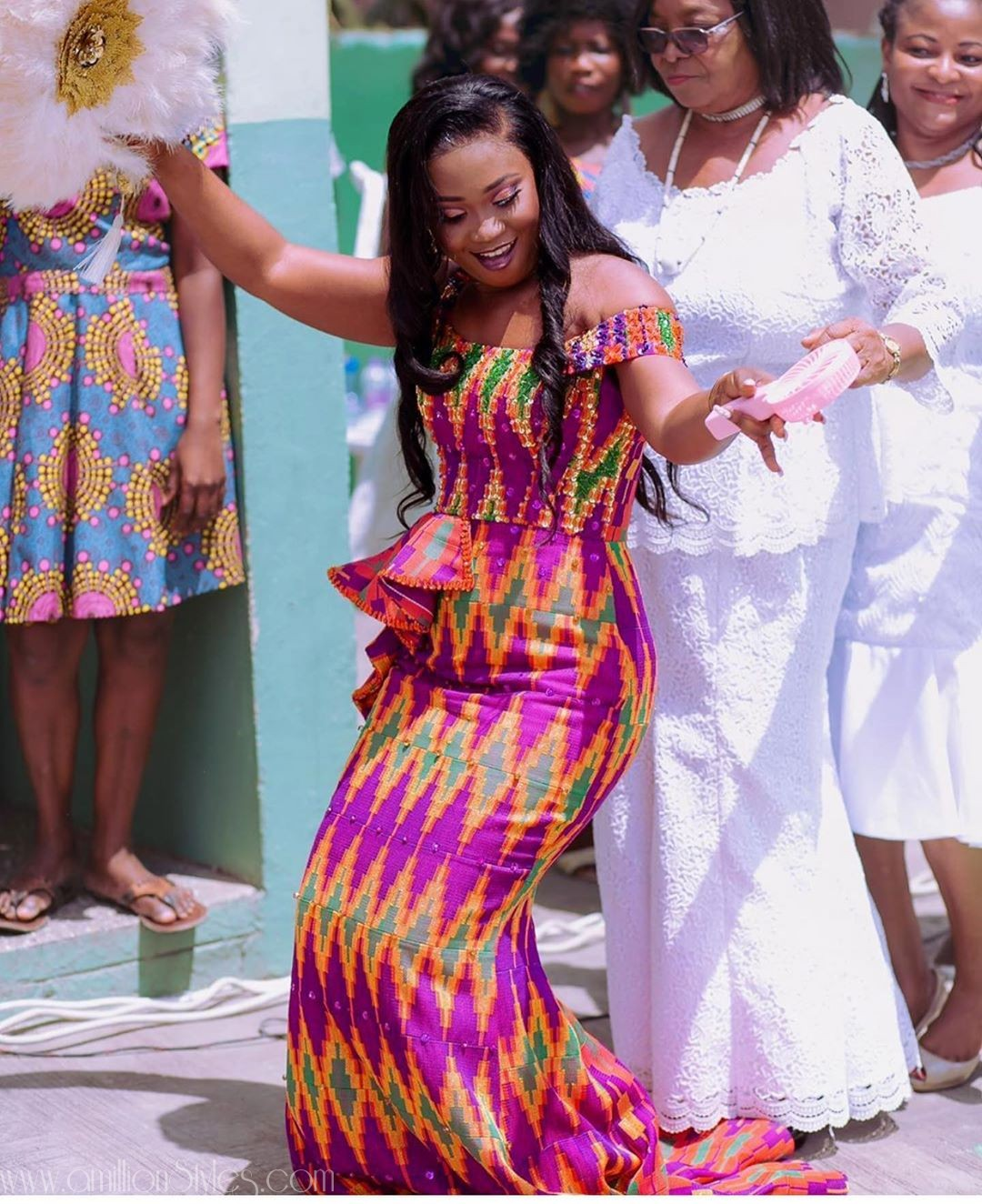 The Sweetest 2019 Kente Styles You'll See!