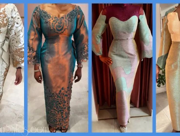15 Fabulous Bridal Styles By Nigerian Designer, Deola Sagoe
