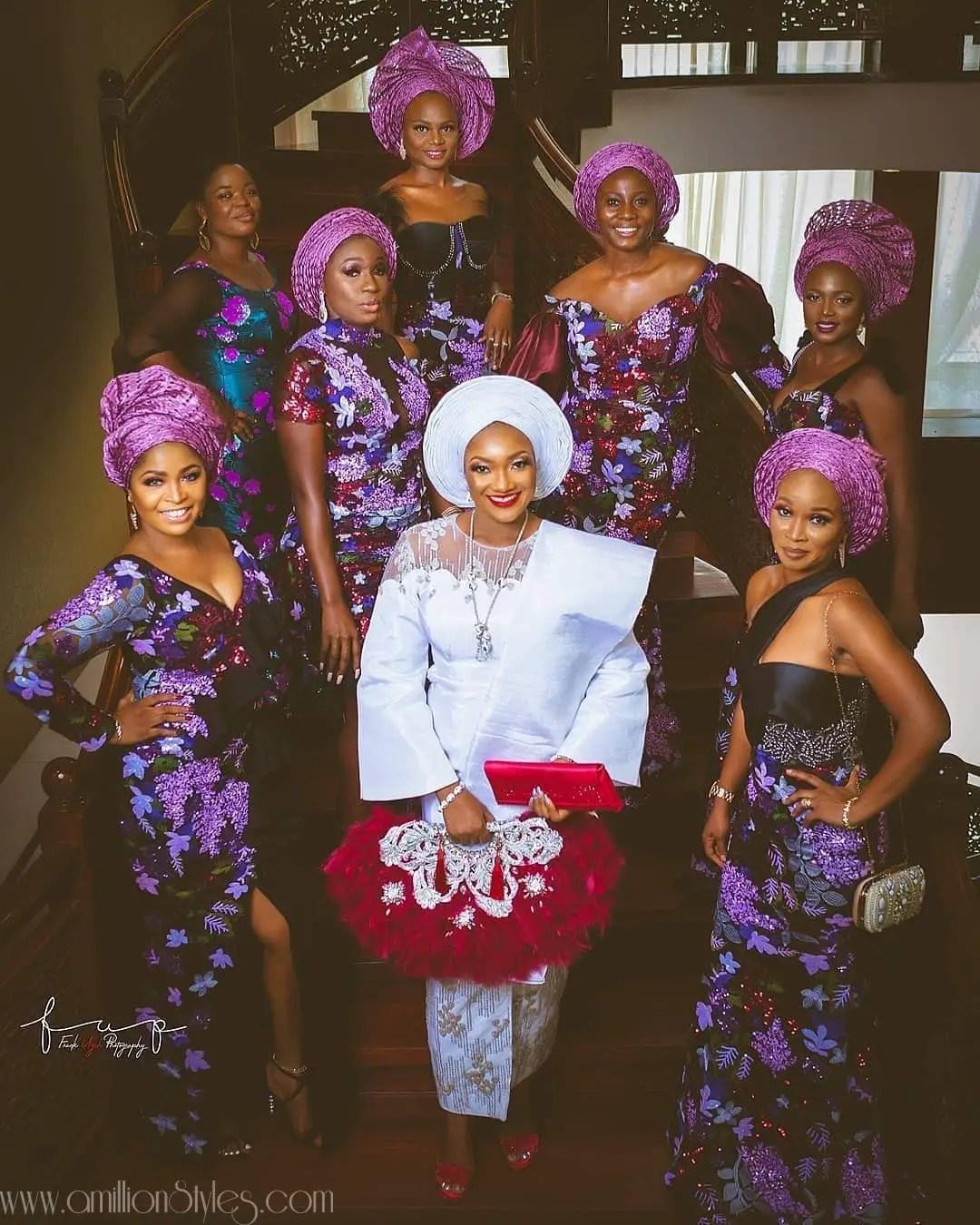 13 Best Nigerian Traditional Brides Styles