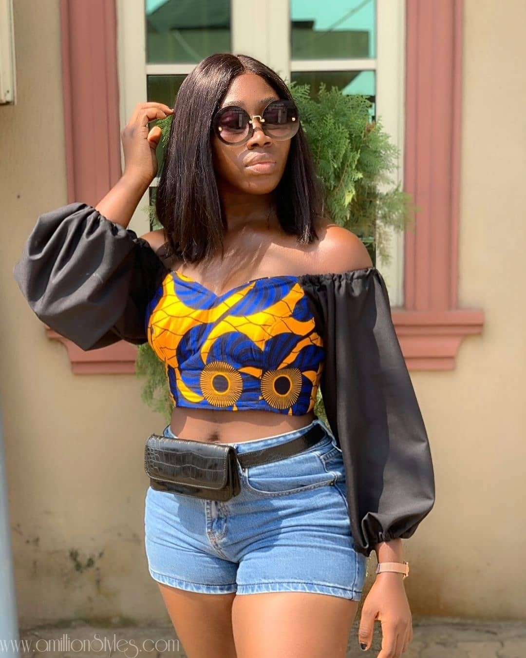 Sweetest 9 Ankara Blouses You'll See Today