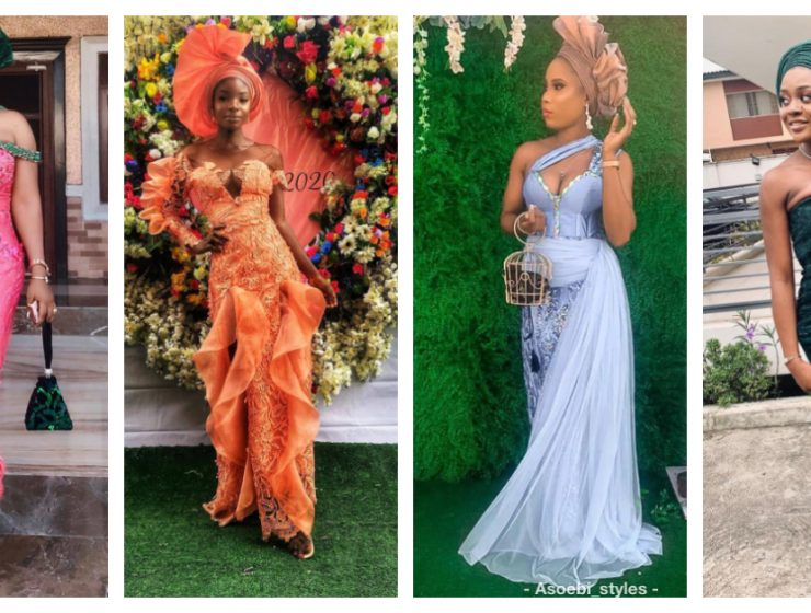 Latest Nigerian Lace Styles and Designs-Volume 25