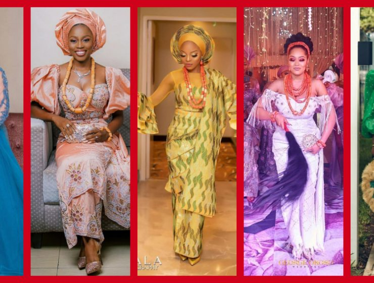 13 Best Nigerian Traditional Brides Styles