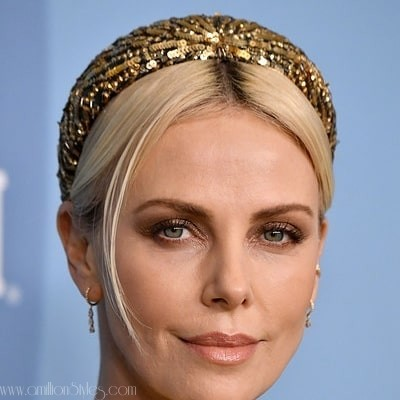 Charlize Theron Looked Regal In Louis Vuitton For Costume Designers Guild Awards