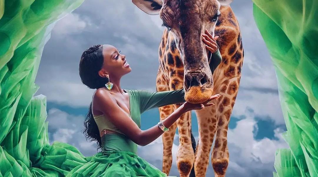 Miss Kenya 2019 Looking Fabulous In This Wildlife Photoshoot