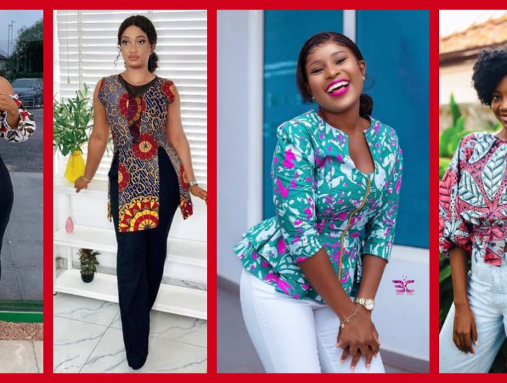 Here Are 8 Beautiful Ankara Tops That Will Look Good On You