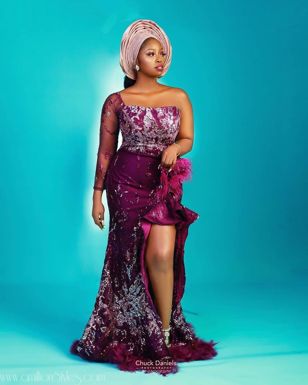 Latest Nigerian Lace Styles and Designs-Volume 28