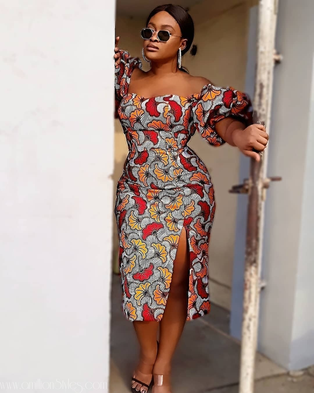 You'll Want These 9 Long Casual Ankara Styles In Your Wardrobe