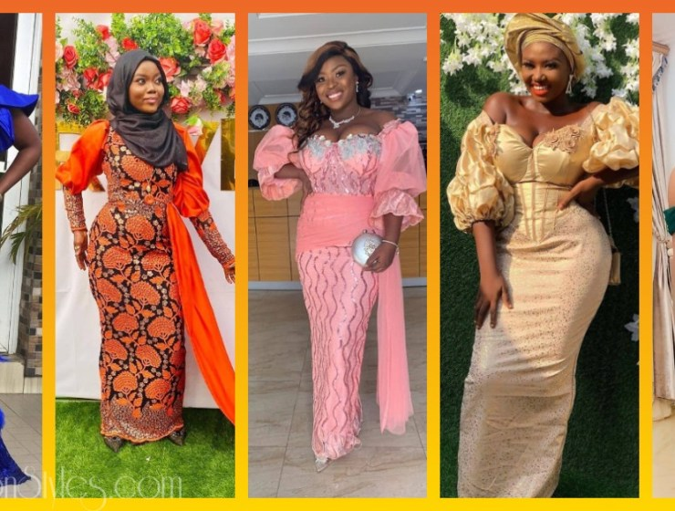 Latest Nigerian Lace Styles and Designs-Volume 30